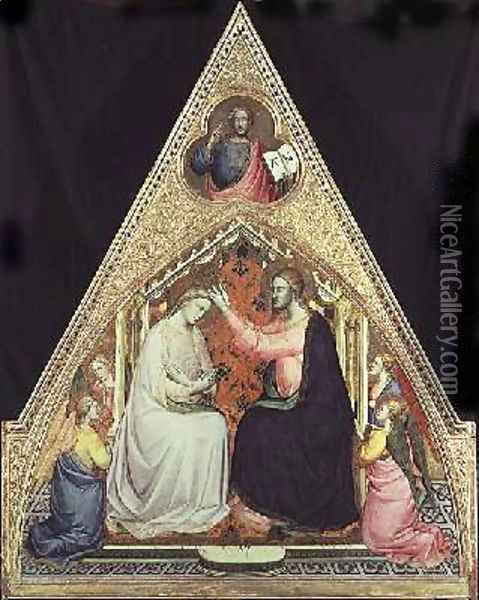 The Coronation of the Virgin 3 Oil Painting - Fra Angelico (Guido di Pietro)