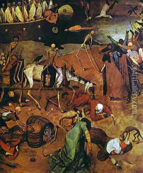 The Triumph of Death (detail 4) Oil Painting - Pieter the Elder Bruegel