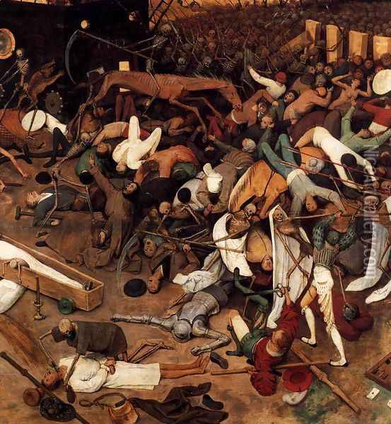 The Triumph of Death (detail) Oil Painting - Pieter the Elder Bruegel