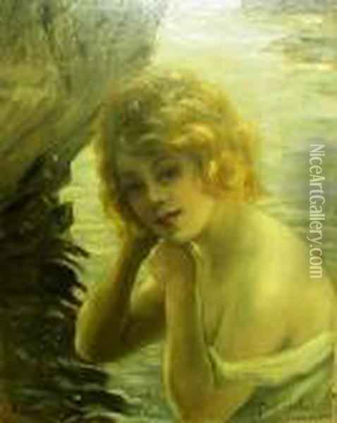 Nymphe Oil Painting - Paul Chabas