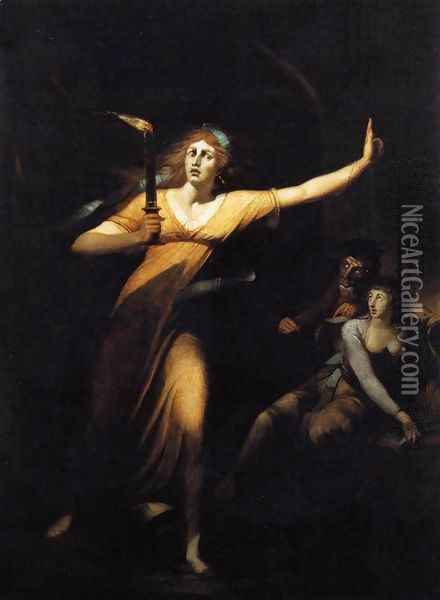 Lady Macbeth 1784 Oil Painting - Johann Henry Fuseli