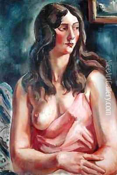 Figure of a Woman Oil Painting - Andre Favory