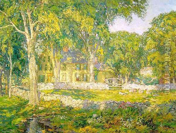 The Old Homestead 1916 Oil Painting - Wilson Henry Irvine