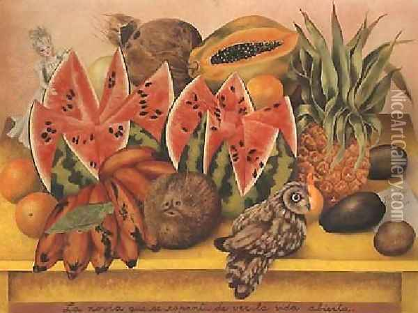 Still Life Oil Painting - Frida Kahlo