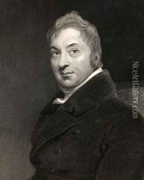 Edward Jenner oil painting reproduction by Sir Thomas ...