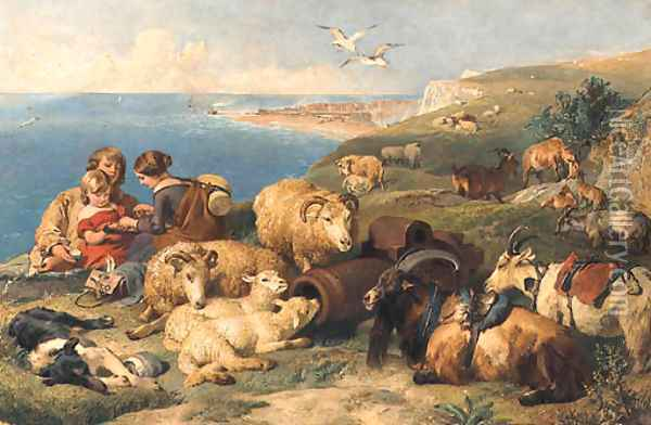 A Time for Peace Oil Painting - Edwin Landseer