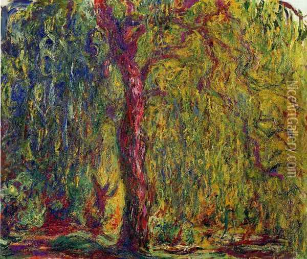 Weeping Willow V Oil Painting - Claude Oscar Monet