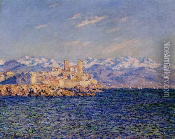Antibes, Afternoon Effect Oil Painting - Claude Oscar Monet