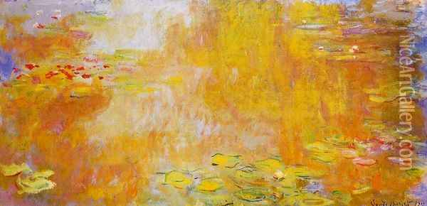 The Water-Lily Pond V Oil Painting - Claude Oscar Monet