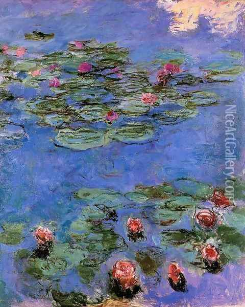 Red Water-Lilies 1914-1917