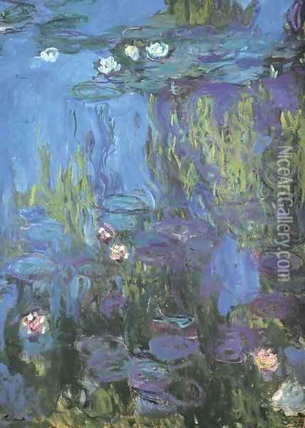 Nympheas 2 Oil Painting - Claude Oscar Monet