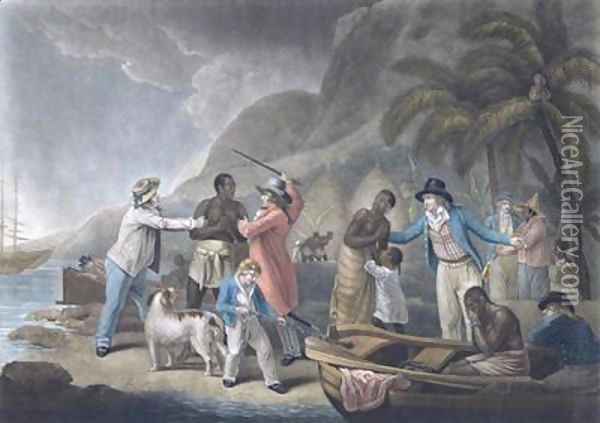 Slave Trade Oil Painting - George Morland