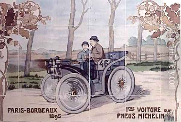 Paris Auto Race 1895
