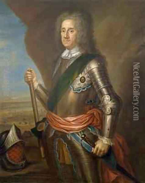 Lord George Hamilton 1666-1737 Earl of Orkney Oil Painting - Martin Maingaud