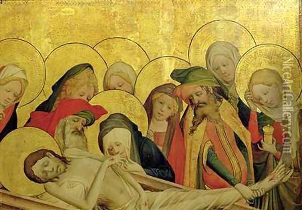 The Entombment 2 Oil Painting - Francke Master