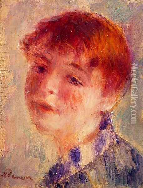 Unknown painting Oil Painting - Pierre Auguste Renoir