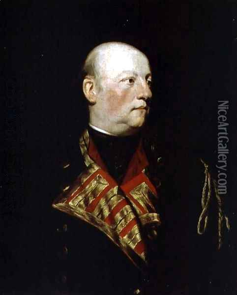 Portrait of John Manners, Marquis of Granby 1721-70 in military uniform, c.1770 Oil Painting - Sir Joshua Reynolds