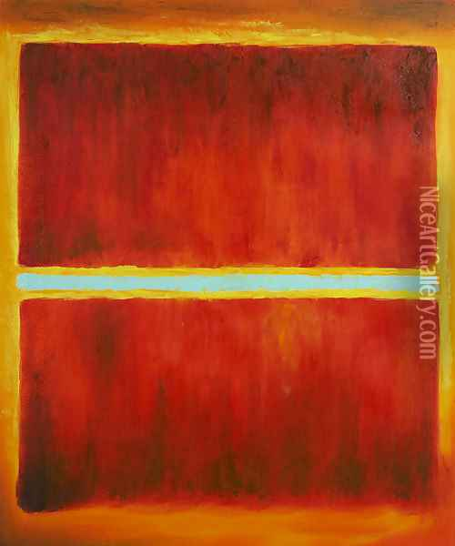 Saffron, 1957 Oil Painting - Mark Rothko