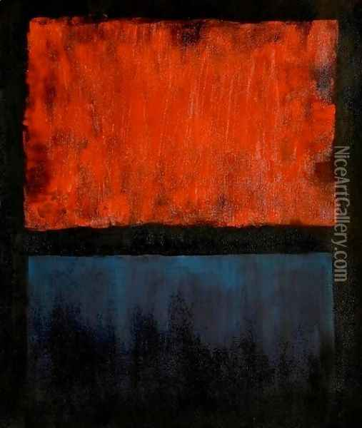NO.14 Oil Painting - Mark Rothko