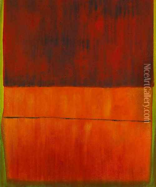 Untitled, 1959 Oil Painting - Mark Rothko