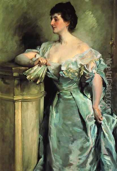 Lady Meysey-Thompson Oil Painting - John Singer Sargent