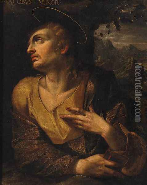Jacob Oil Painting - Jan Soens