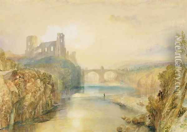 Barnard Castle Oil Painting - Joseph Mallord William Turner