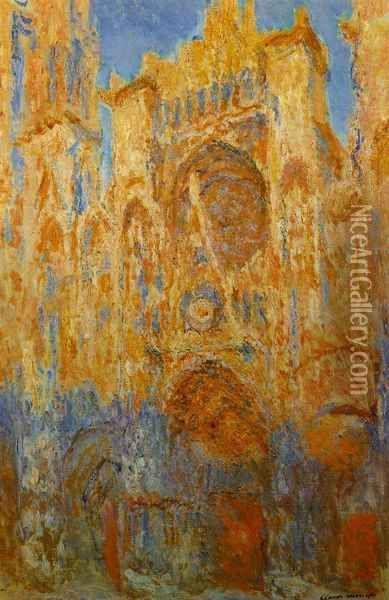 Rouen Cathedral Oil Painting - Joseph Mallord William Turner