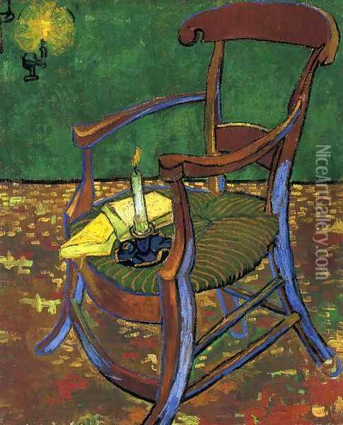 Gauguin's Chair Oil Painting - Vincent Van Gogh