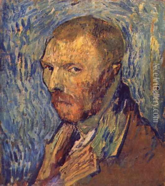 Self Portrait 15 Oil Painting - Vincent Van Gogh