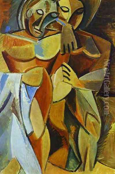 Friendship Oil Painting - Pablo Picasso