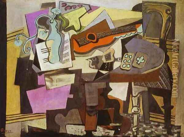 Still-Life 1918 Oil Painting - Pablo Picasso