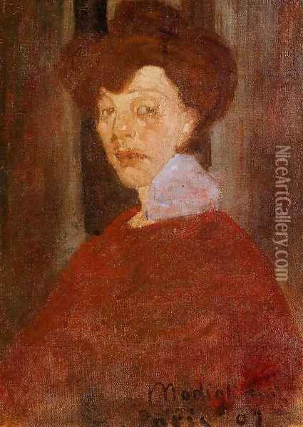 Portrait of a Woman 2 Oil Painting - Amedeo Modigliani