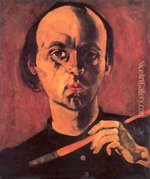 Self-portrait 1933 Oil Painting - Karl Briullov