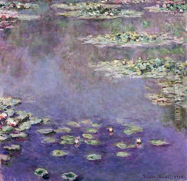 Nympheas 3 Oil Painting - Claude Oscar Monet