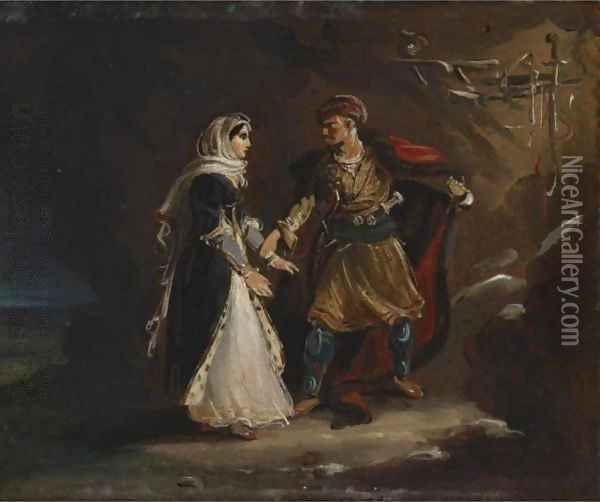 The Bride Of Abidos Oil Painting - Theodore Gericault