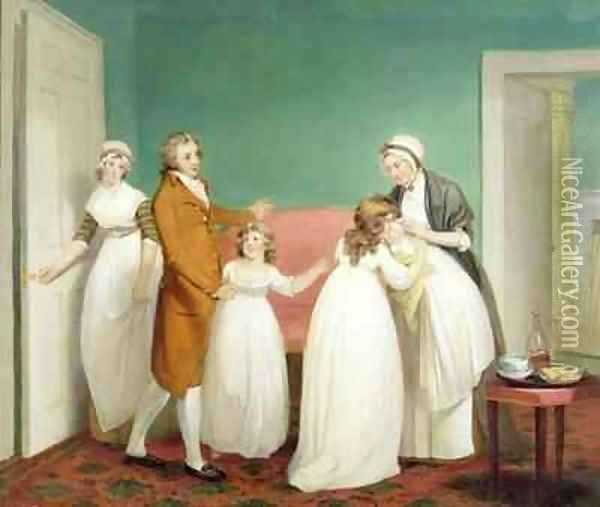 Birth of the Heir Oil Painting - William Redmore Bigg