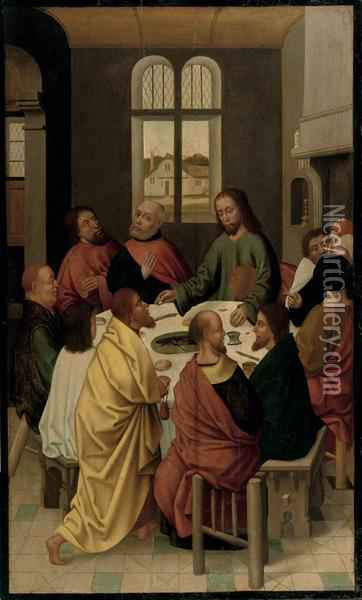 The Last Supper oil painting reproduction by Dieric the ...
