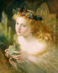 'Take the Fair Face of Woman, and Gently Suspending, With Butterflies, Flowers, and Jewels Attending, Thus Your Fairy is Made of Most Beautiful Things', Charles Ede