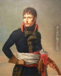 Portrait of Napoleon Bonaparte as First Consul, holding a sabre