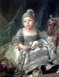 Portrait of Louis Philippe Joseph, Duke of Montpensier as a child