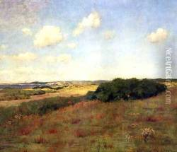Sunlight and Shadow, Shinnecock Hills, c.1895 Oil Painting