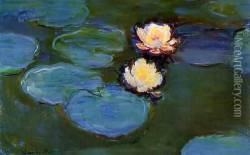 Water-Lilies1 1897-1899 Oil Painting