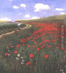 Poppies in the Field 1902