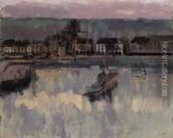 Bassin Dieppe Oil Painting
