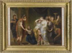 Alexander The Great Showing Mercy To The Family Of Darius