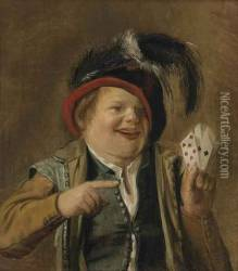 A Card Player